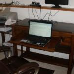 Sitting-down setup